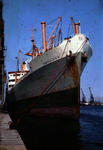 Ship 'Ben Alder' at Grangemouth docks