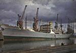 Ship 'Ben Cruachan' at Grangemouth docks