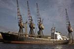 Ship 'Courland' at Grangemouth docks
