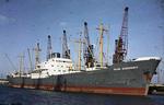 Ship 'Helga Oldendorff' at Grangemouth docks
