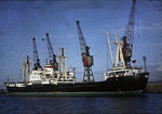 Russian ship at Grangemouth docks