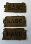 "badge; arm ""RASC"""