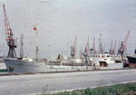 Ship 'Amalie Essberger' at Grangemouth docks