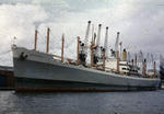 Ship 'Ben Rinnes' at Grangemouth docks