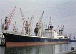 Ship 'Cairndhu' at Grangemouth docks