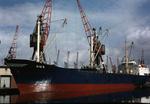 Ship 'Dux' at Grangemouth docks