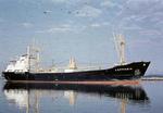 Ship 'Lapponia' at Grangemouth docks