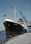 Ship 'Monark' at Grangemouth docks