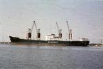 Saguenay Line ship at Grangemouth docks