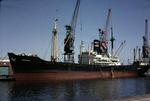 Ship 'Hermanos' at Grangemouth docks
