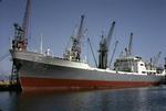 Ship 'Serbistan' at Grangemouth docks
