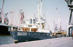 Ship 'Helle Riise' at Grangemouth docks