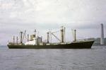 Ship 'Regenstein' in the River Forth near Grangemouth