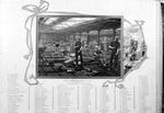 Moulding shop, Carron Iron Works with list of moulding staff