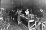 Female munitions workers at Carron Iron Works in Second World War