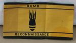 arm band; Bomb Reconnaissance