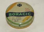 """tin; """"Boracic ointment"""""""