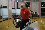 Ballot box collection, Brightons Polling Station No 2