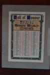 Roll of Honour, Erskine Parish church