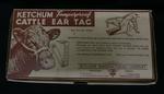box; ear tag