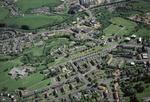 Aerial view of Bonnybridge