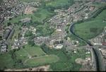 Aerial view of Bonnybridge