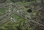 Aerial view of Stenhousemuir Town Centre