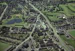Aerial view of Stenhousemuir Town Centre