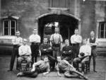 Workers at Callendar House Stables