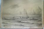 "drawing; ""HMS Abdiel"""