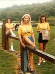 Choose Falkirk District for Leisure campaign - models in Callendar Park