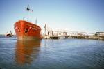"Ship ""BP Jouster"" at Grangemouth Docks"