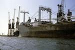 "Ship ""Netumar"" at Grangemouth Docks"