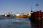 Ships at Grangemouth Docks