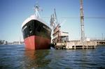 "Ship ""Shell Explorer"" at Grangemouth Docks"