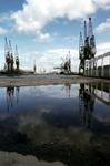 Cranes at Grangemouth Docks