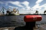 Ship at Grangemouth Docks