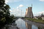 BP plant at Grangemouth, from River Avon bridge