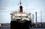 "Ship ""British Kennet"" moored in Grangemouth Docks."