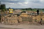 Construction of M9 Junction 8 at Hill of Kinnaird
