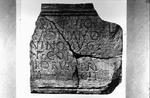 Building inscription, Rough Castle