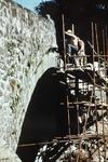 Repair work on Gonachan Bridge, Fintry