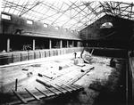 Construction of Falkirk Swimming Baths