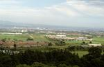 View of The Bog, West Mains Industrial Estate & Westfield from High Flats