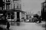 Shops at street corner near Grahamston Bridge