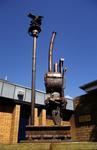 Public Art - sculpture at Falkirk High Station
