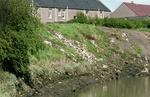 Illegal tipping, River Carron, Carronshore.