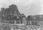 Unveiling of Falkirk War Memorial, Dollar Park