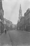 Falkirk High Street with Steeple