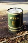 Litter Bin in Callendar Park